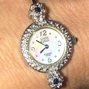 Anne Klein Diamond Swiss Watch